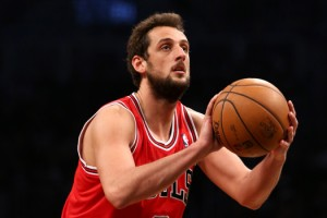 NBA: Playoffs-Chicago Bulls at Brooklyn Nets