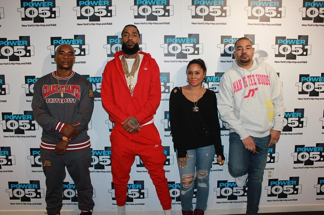 Nipsey Hussle Visits The Breakfast Club